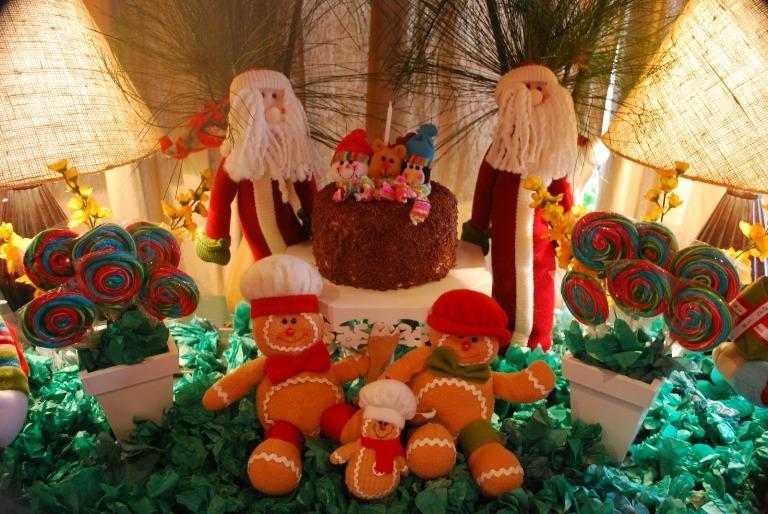 decoracao cozinha natal:infantil para agradar a criançada podem decorar a mesa de Natal