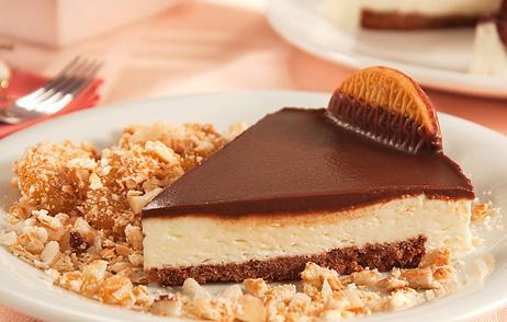 Caia em tentação com uma Torta Holandesa