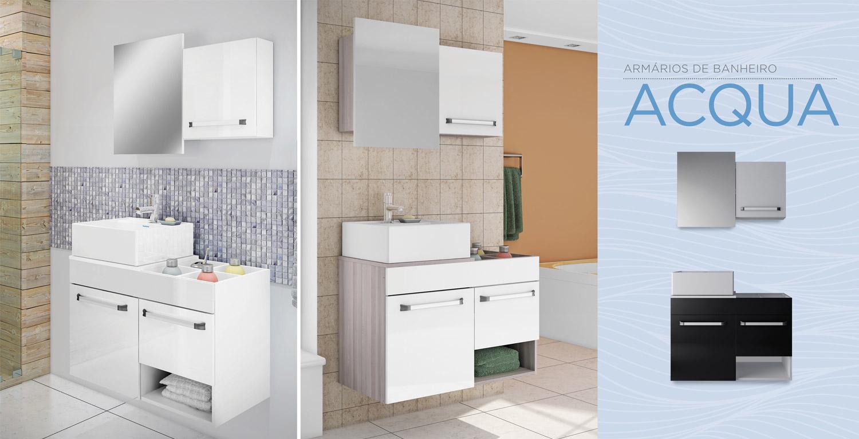 Banheiros  Cozinhas Itatiaia -> Armario De Banheiro Aura
