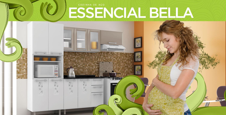 Essencial Bella | Cozinhas Itatiaia