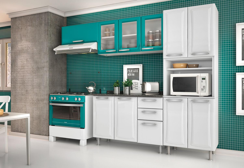 #267671 Armarios de Cozinha Planejados Modernos Armário Planejado de Cozinha 1500x1028 px Armario Grande De Cozinha Casas Bahia #2135 imagens