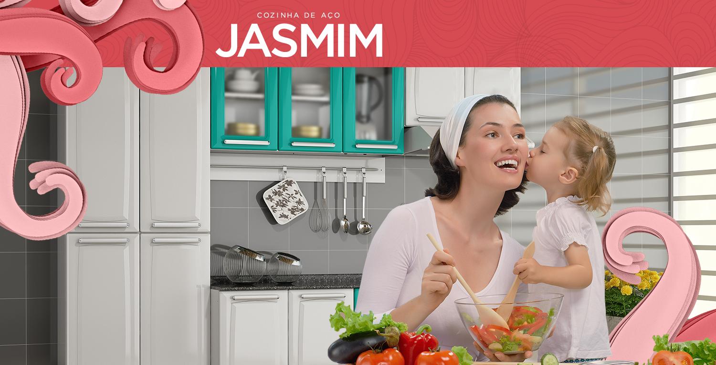Jasmim | Cozinhas Itatiaia