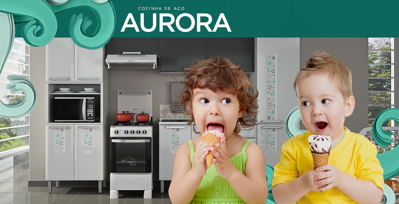 Aurora | Cozinhas Itatiaia