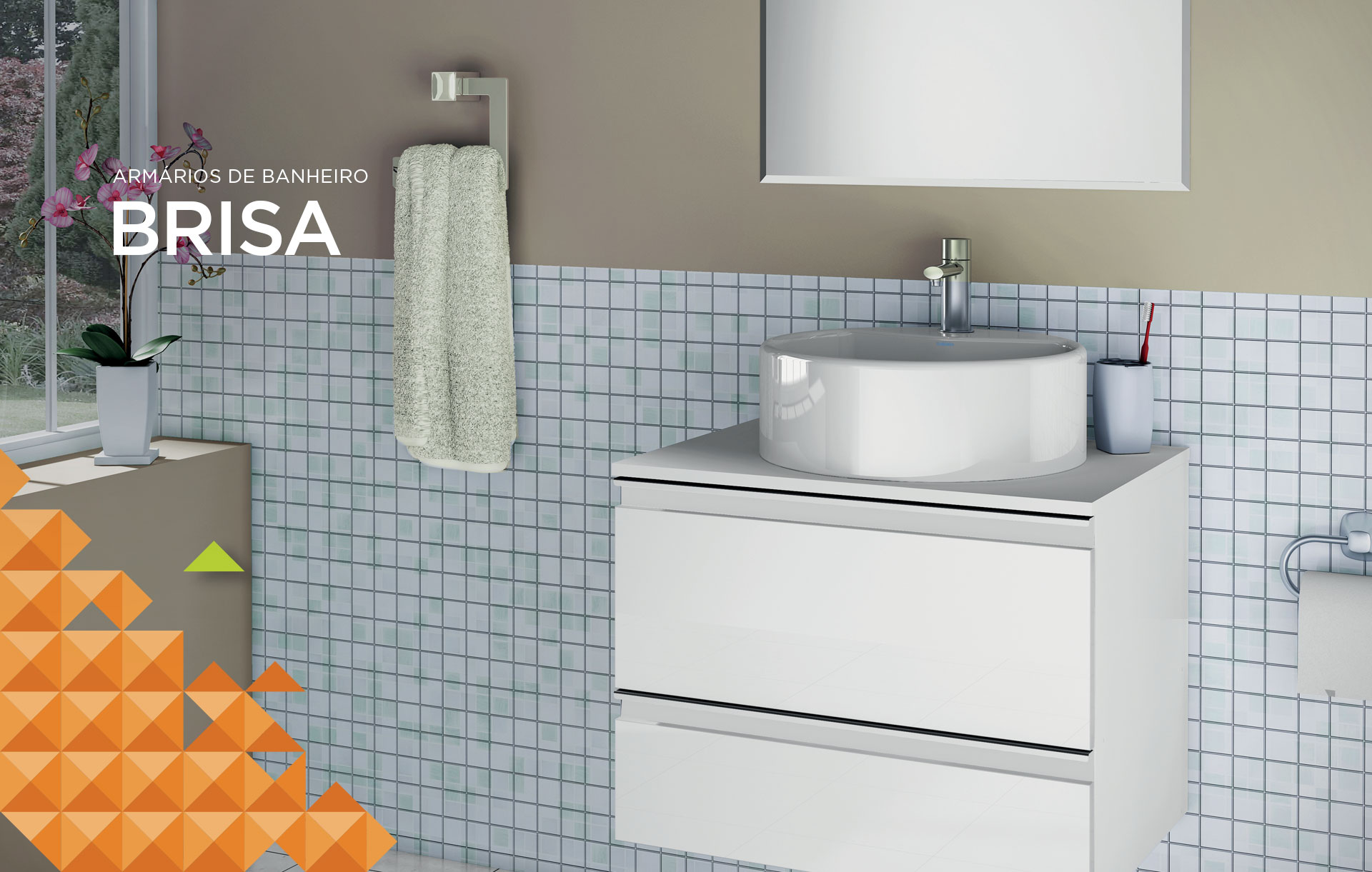 Linha Banheiro Itatiaia : Brisa cozinhas itatiaia
