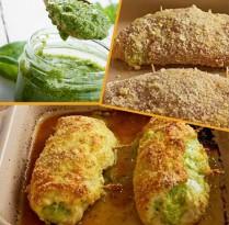Receitas Magnífico Rolê de Frango com Pesto | Cozinhas Itatiaia
