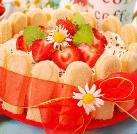 Sublime Charlotte de frutas vermelhas | Cozinhas Itatiaia
