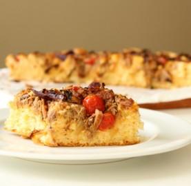Pizza de sardinha suculenta | Cozinhas Itatiaia