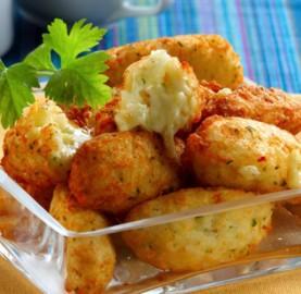 Receitas Bolinho de Arroz assado | Cozinhas Itatiaia