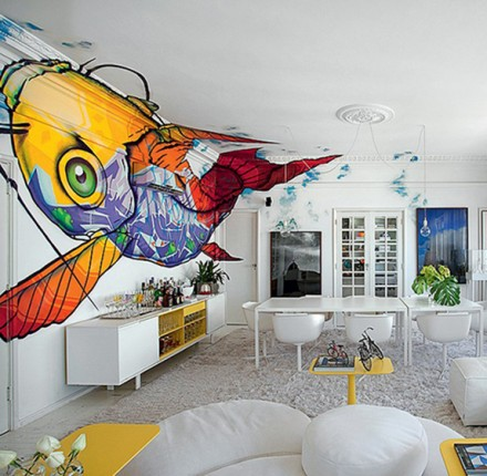 Decoração Grafite dá a voz da decoração | Cozinhas Itatiaia