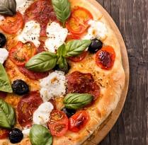 Receitas Pizza integral levinha | Cozinhas Itatiaia