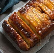 Receitas Bolo invertido de banana e aveia | Cozinhas Itatiaia