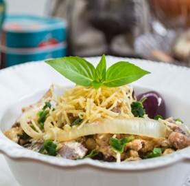 Surpreenda com o sabor de sardinha à Braz | Cozinhas Itatiaia