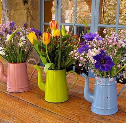 Decoração Abra as portas para primavera com arranjos florais | Cozinhas Itatiaia