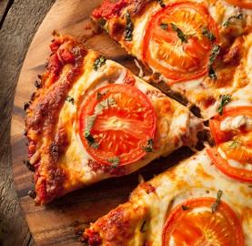 Pizza espetacular com massa de couve-flor | Cozinhas Itatiaia