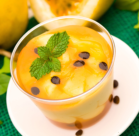 Mousse de maracujá com melaço | Cozinhas Itatiaia