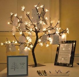 Decoração Árvore dos desejos pra colher bons sentimentos | Cozinhas Itatiaia