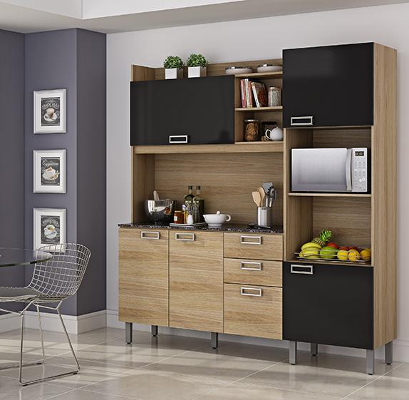 Decoração Móveis que aumentam a sensação de espaço na cozinha | Cozinhas Itatiaia