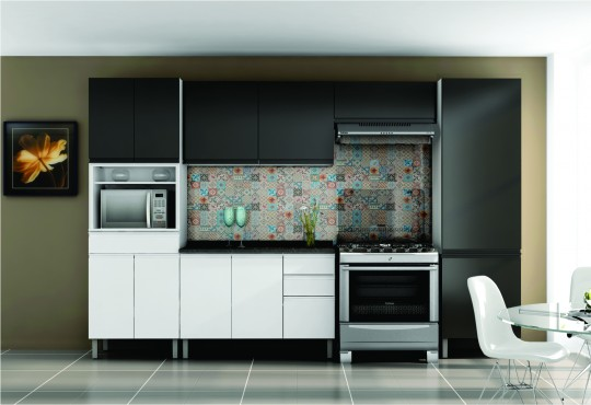 Steel Kitchens Stilo Plus | Cozinhas Itatiaia
