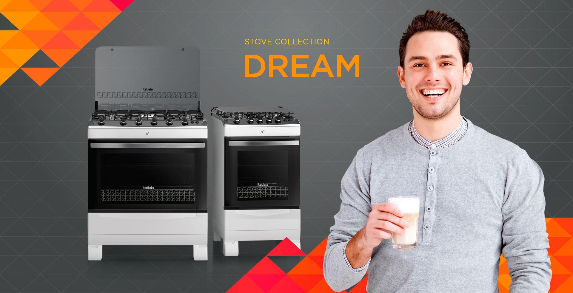 Fogões Dream | Cozinhas Itatiaia