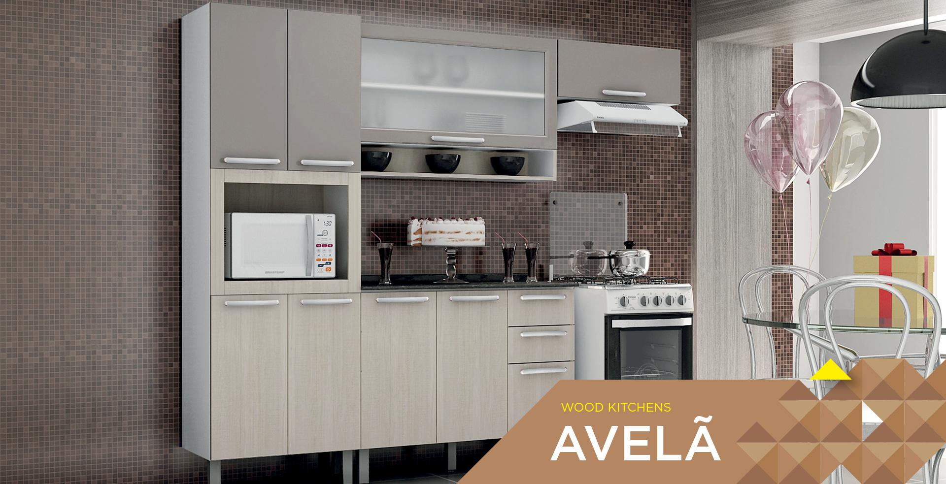 Wooden Kitchens Avelã | Cozinhas Itatiaia