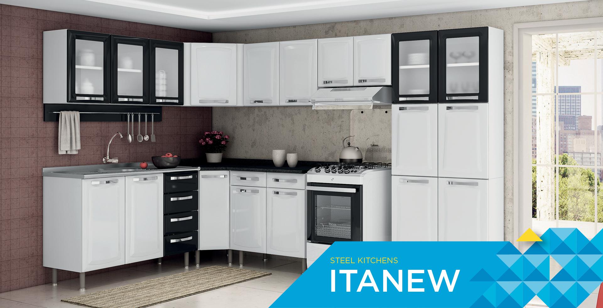 Steel Kitchens Itanew | Cozinhas Itatiaia