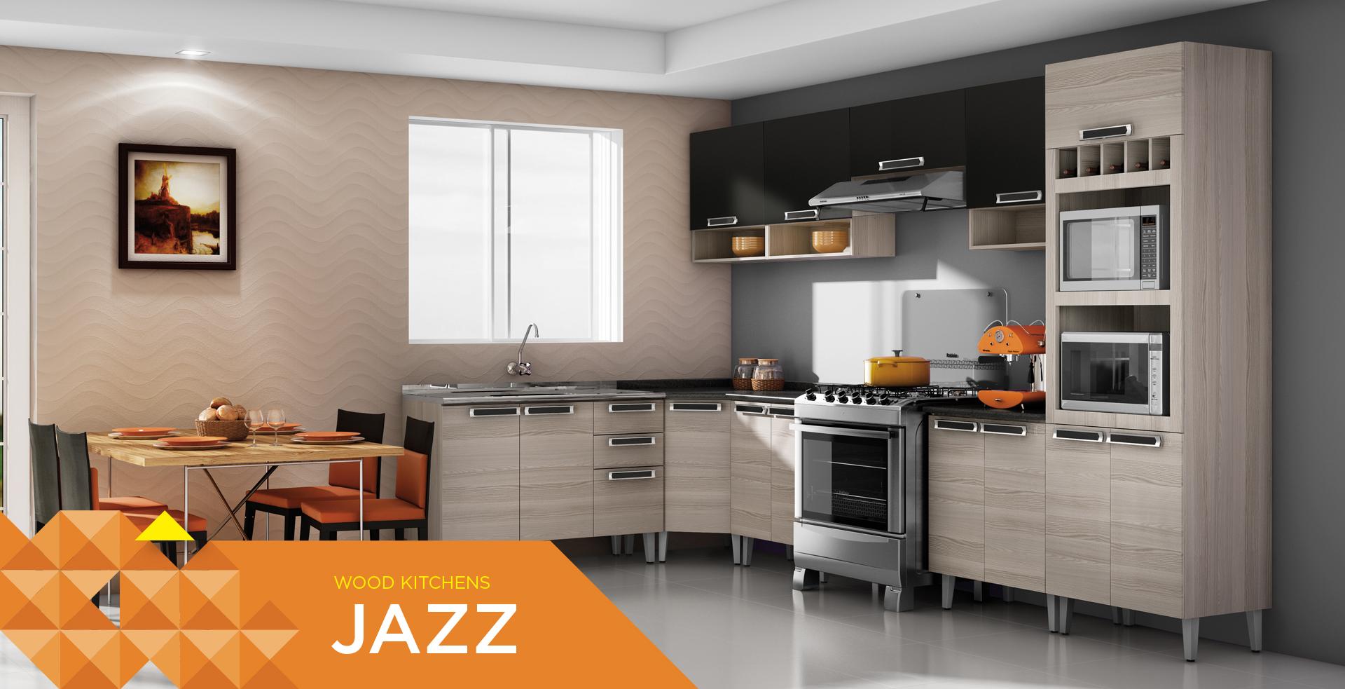 Wooden Kitchens Jazz | Cozinhas Itatiaia